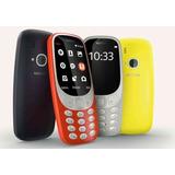 Celular Nokia 3310 Camara Bluetooth Radio Económico Barato