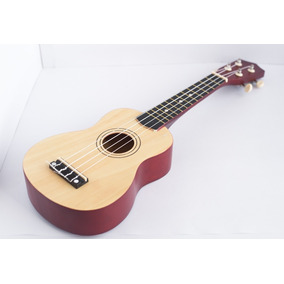 Ukelele Soprano 21 Marrón Natural Ideal Principiantes