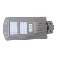 Luminária Solar De Led P/ Poste 60w C Sensor, Timer E Contr