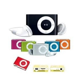 Ipod Shuffle / Mp3 Player + Cabo Usb + Fone + Pronta Entrega