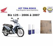 Tira Risco Moto Honda Biz 125 - Prata - 2006 A 2007