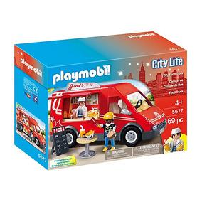 Playmobil 5677 Camioneta De Comida Rápida (fast Food)