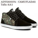 Zapatilla Dc Shoes Botines 2 Colores Unicas Tallas En Foto