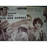 Leonardo Favio Vive Dos Sueños Clipping Revista Radiolandia