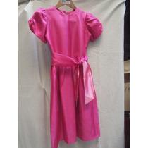 Vestido De Nena De Fiesta Color Rosa