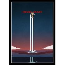 Poster A3 - Homem De Ferro (minimalista)