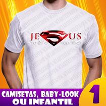Camiseta Evangélicas Cristã Camisa Religiosas Frete Gratis