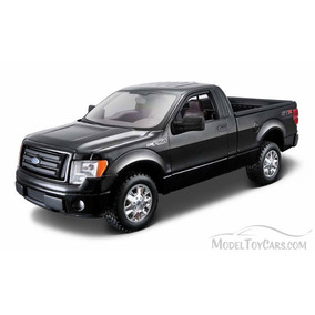 Maisto 2010 Ford Lobo F-150 Stx Pickup Negra 1:24 Display