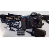 Camara Fotografica Nikon D200 Dslr Reflex + Lente 1.8 Af 50m