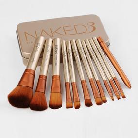 Set Brochas Naked 3 X 12 Pcs Lata Marcada Envío Gratis!