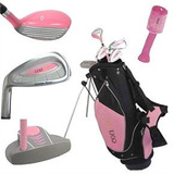 Golf Girl Lefty Junior Club Set Para Niños De 8-12 Años Con