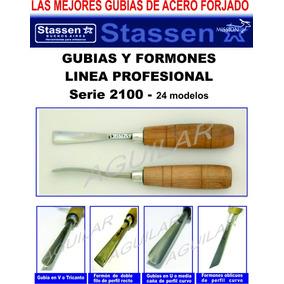 Gubias Y Formones Stassen Linea Profesional