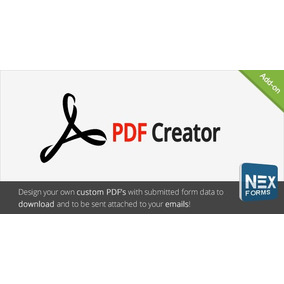 Pdf creator informtica no mercado livre brasil pdf creator for nex forms v40 wordpress plugin reheart Choice Image
