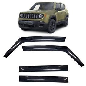 Calha Defletor De Chuva Jeep Renegade Tg Poli 4 Portas 2017