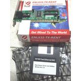 Placa Red Pci Encore Enl832 Chipset Rtl8139 Nueva Caja Cd