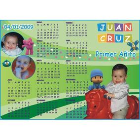 Calendario X 12 Imantado Almanaque Calidad Foto Original