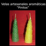 Velas Artesanales Aromáticas - Pinos Chicos