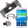 Soporte Aire Auto + Cargador + Cable Usb Huawei G8 P7 P8 P9