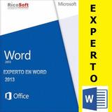 Word: Libro Experto En Word - Alfredo Rico Pdf