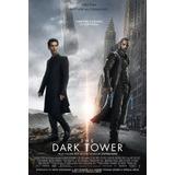 Película Dark Tower Blueray 1080 Inglés/latino