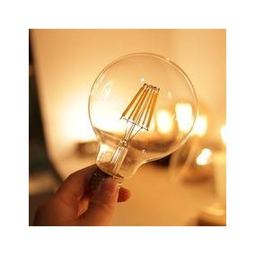 Lâmpada Filamento Led 4w Vintage Retrô Luz Âmbar Decoração