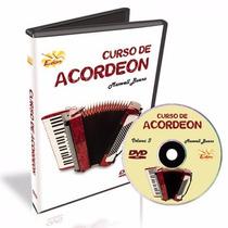 Curso Acordeon Volume 3 Em Dvd Frete Gratis