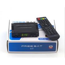 Freesat V7 Fta Wifi Hdmi Blue&red Envio Gratis