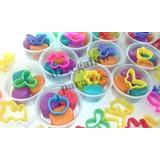 Masa Para Modelar,souvenirs X 10 Potes Personalizado $120