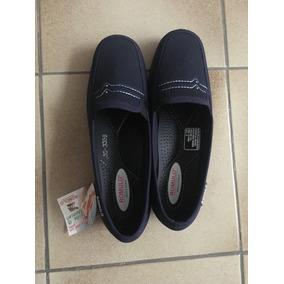 Mcv Zapatos De Descanso Azules T 35. Marca Romulo. Colombia