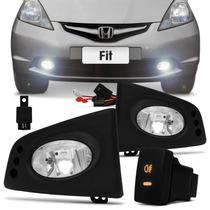 Kit Farol De Milha Honda Fit 2009, 2010, 2011 E 2012 - Orgus