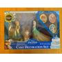 Disney Frozen Figuras Decorativas Para Pastel Exclusivas D23
