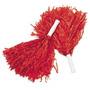 Diversión Expreso Rojo Pompones De Porristas - 12 Piezas