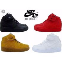 Promoção Tenis Nike Botinha Cano Alto Air Force Infantil