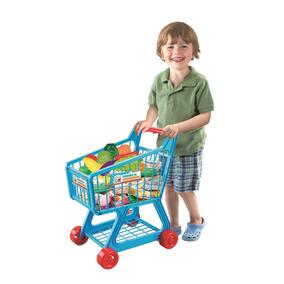 Carrinho De Supermercado Creative Fun Azul - Multikids