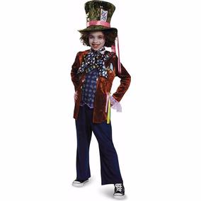 Disfraz Sombrero Loco Alicia Talla S 4-6 *envío Gratis