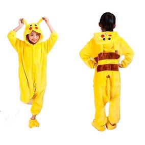 Pijama Infantil Kigurumi Hello Kitty Pikachu Pronta-entrega 56b1d5c536fac