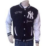 Chaqueta Beisbolera Tallas S M L Rf. New York Be-ab