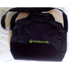 Maletin Bolso De Lona Herbalife Para Laptop Cuchara Medidora