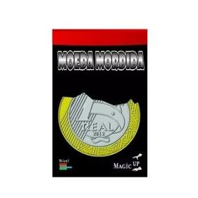 Mágica Moeda Mordida 1 Real