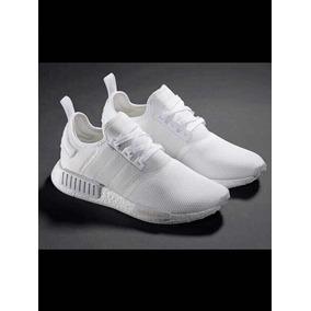 zapatillas adidas hombre blancas nmd