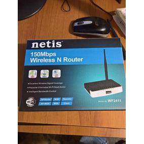 Router Wifi Y Repetidor N150 Netis Wf2411