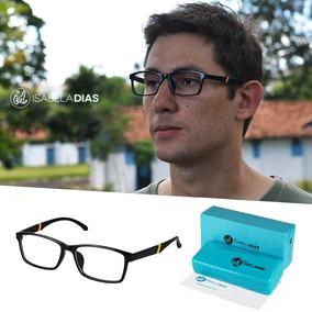 cb428d0a7 Armacao Oculos Masculino Original - Óculos De Grau no Mercado Livre ...