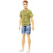 Boneco Ken Barbie Fashionista 139 Cabelo Vermelho 2020