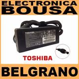 Cargador Notebook Toshiba 19v 3.42a 65w, Samsung, Bgh , Acer