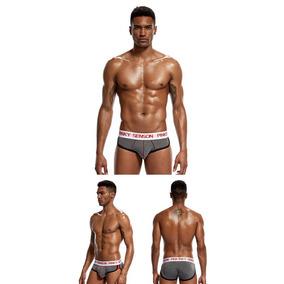 Bóxer Up Slip Bikini Trusa Levanta Aumenta Glúteos Hombre