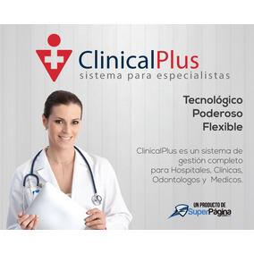 Sistema Software Clínicas, Médicos, Odontólogos, Pedíatras