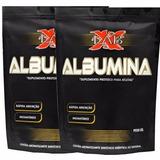 Albumina Xlab 1kg (morango C/ Banana)
