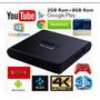 Smart Tv Box 4k Android 6.0 9 Core 2gb Ram Y 8gb Importador