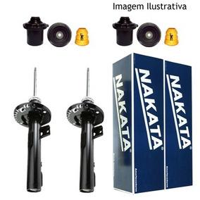 2 Amortecedores Nakata + Kit Gm Corsa Novo Sedan 2002/2012