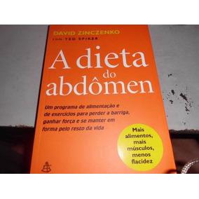 Livro A Dieta Do Abdômen - David Zinczenko